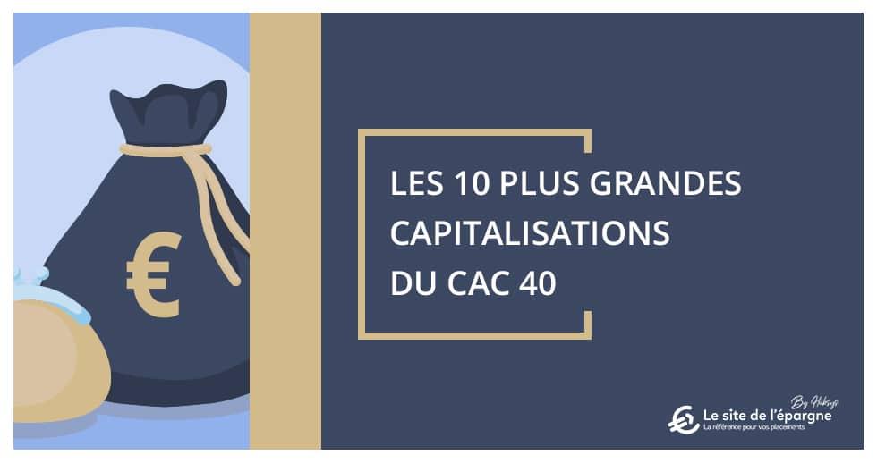 Les 10 plus grandes capitalisations du CAC 40