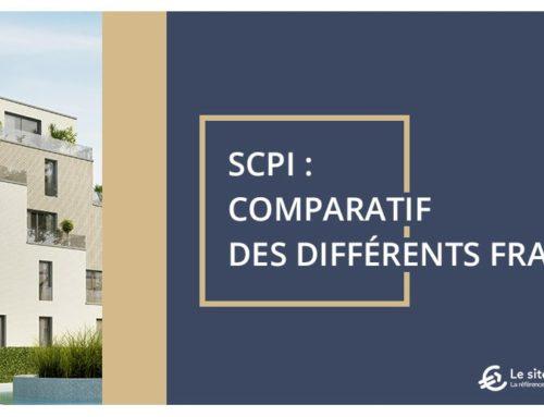 SCPI : comparatif des différents frais